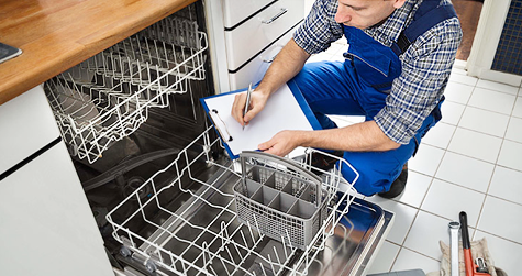 KitchenAid and LG Dishwasher Repair in Dallas